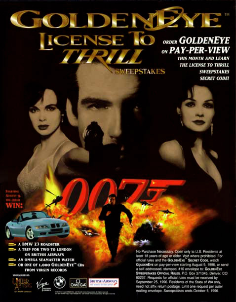 Goldeneye Movie Poster 1995 Buy PictureGoldeneye Movie Poster