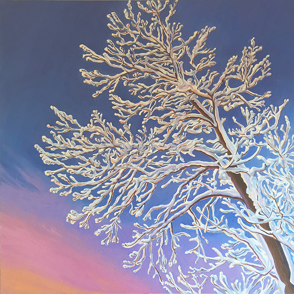 Crystal Morning, A Painting by Shere Chamness