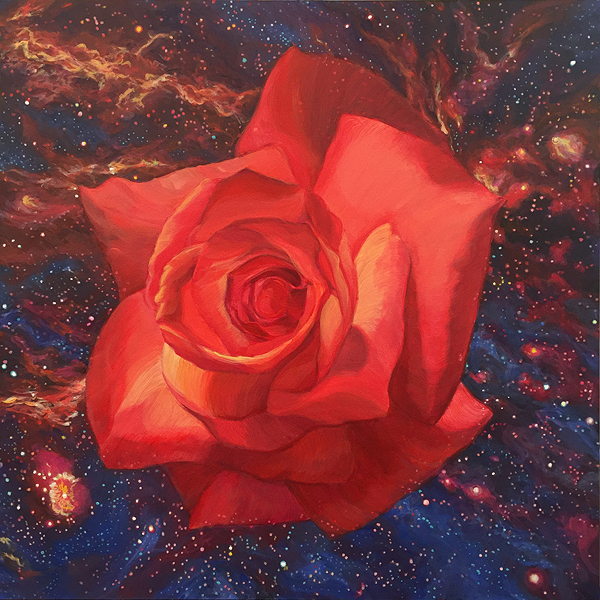 Center Of The Galaxy, A Painting by Shere Chamness