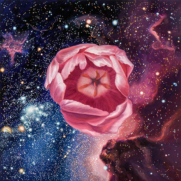 Song of the Cosmos, A Painting by Shere Chamness
